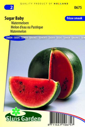 Meloen Zaden Kopen, Sugar Baby   Moestuinland  Jalapeno