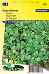 Gewone postelein zaden kopen, Groene postelein | Moestuinland