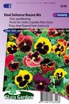Viooltje zaden kopen, Zwitserse Reuzen Mix Viooltjes   Moestuinland