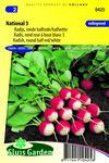 Zaden voor Radijs national 3 - Moestuinland