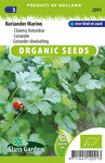 Zaden voor biologische koriander Marino - Moestuinland