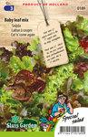 Zaden voor snijsla baby leaf mix - Moestuinland