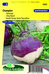 Zaden kopen voor koolraap - moestuinland