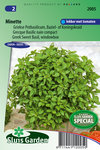 Basilicum zaden kopen moestuin | Moestuinland