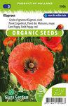 Biologische klaproos zaden kopen, Gewone of grote klaproos | Moestuinland