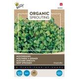 Mosterdkers zaden kopen, Organic Sprouting | Moestuinland
