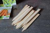 Bamboe/houten plantlabels kopen voor in de moestuin | Moestuinland