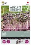Radijs zaden kopen, Micro Greens (red daikon) | Moestuinland