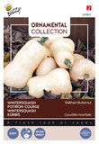 Wintersquash zaden kopen, kalebas waltham butternut flespompoem wit | Moestuinland