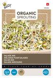 Salade mix zaden kopen, Organic Sprouting Grootverpakking (250 gram) Biologisch | Moestuinland