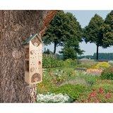 Sfeerfoto insectenhotel bestellen Buzzy@Home | Moestuinland
