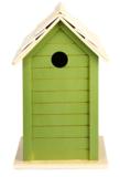 Olijfgroen vogelhuisje kopen  | Moestuinland
