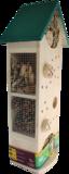 Etage insectenhotel, Bijen vlinders hommels vlinders | Moestuinland