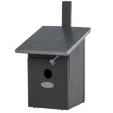 Grijze nestkast voor de koolmees kopen, NK40G Grijs vogelhuisje | Moestuinland