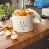 Sfeerfoto composter kopen voor binnen compostbak | Moestuinland