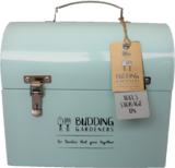 Blauwe gereedschapskist kopen, Opslagbox kist   Moestuinland