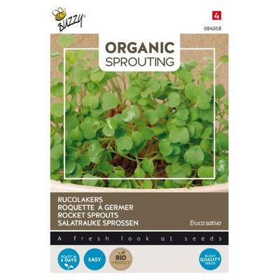 Rucolakers Zaden, Organic Sprouting | BIO