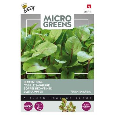 Bloedzuring Zaden, Micro Greens