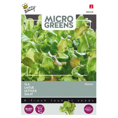 Sla Zaden, Micro Greens (Mix)