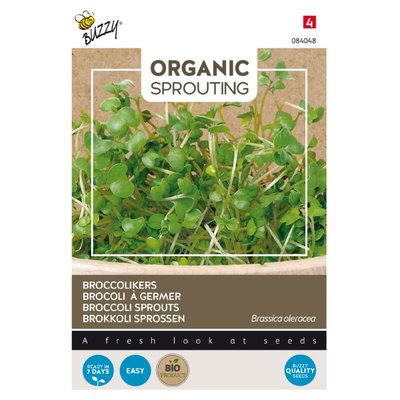 Broccolikers Zaden, Organic Sprouting | BIO