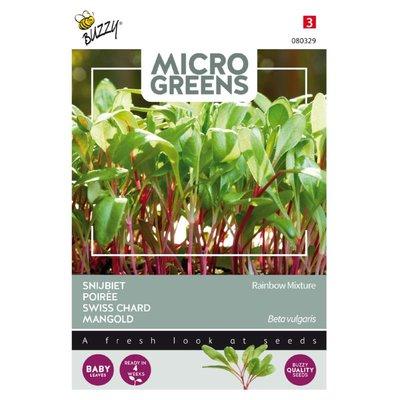 Snijbiet Zaden, Micro Greens
