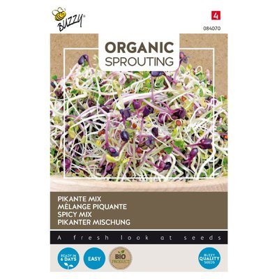 Pikante Mix Zaden, Organic Sprouting