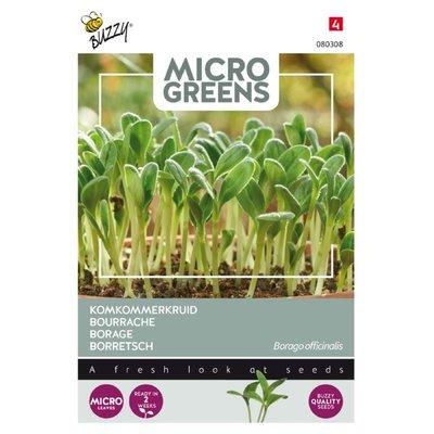 Komkommerkruid Zaden, Micro Greens