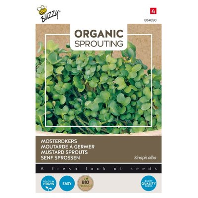 Mosterdkers Zaden, Organic Sprouting | BIO