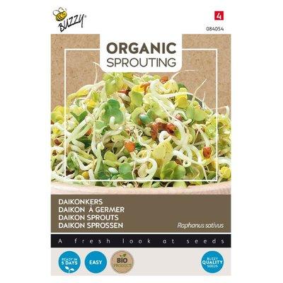 Daikonkers Zaden, Organic Sprouting | BIO