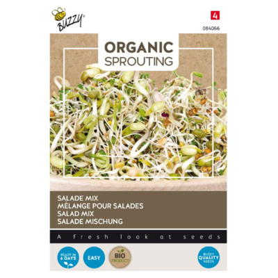 Salade Mix Zaden, Organic Sprouting | BIO