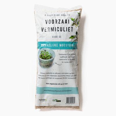 Vermiculiet, zaaimedium 6 liter (vermiculite)