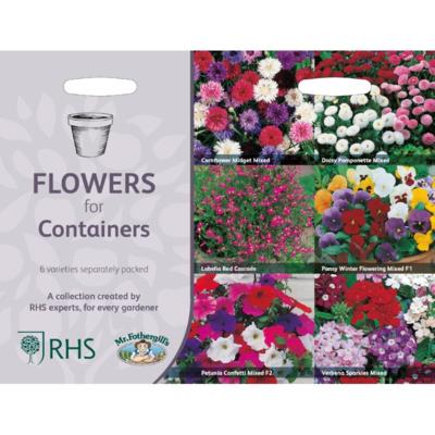 Bloemen voor potten, Collectie van 6