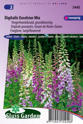 Vingerhoedskruid zaden, Digitalis Excelsior Mix
