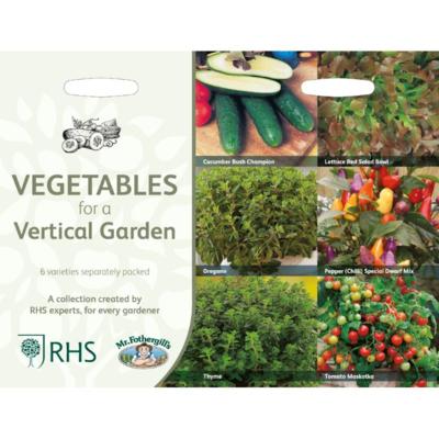 Groenten voor de verticale tuin, Collectie van 6