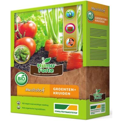 Meststof voor groente & kruiden, HumuForte | BIO