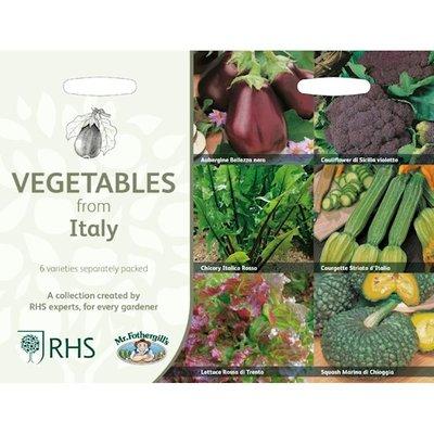 Italiaanse groenten, Collectie van 6