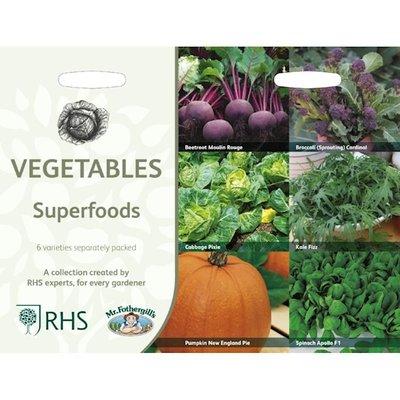 Groenten superfoods, Collectie van 6