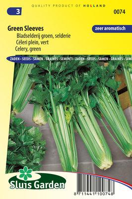 Bladselderij zaden, Green Sleeves (Selderie)
