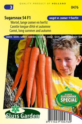 Wortel zaden, Sugarsnax 54 F1 (Wortels)