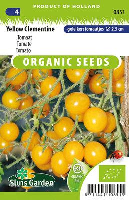 Tomaat zaden, Yellow Clementine (tomaten)   BIO