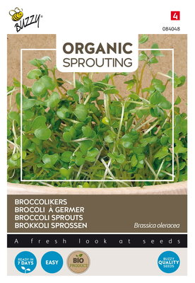 Broccolikers Zaden, Organic Sprouting | BIO