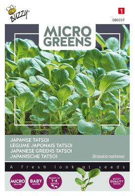 Japanse Tatsoi Zaden, Micro Greens