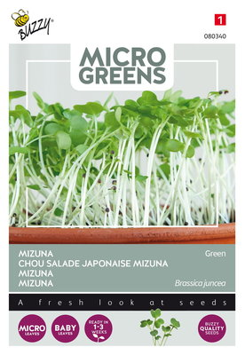 Mizuna Zaden, Micro Greens