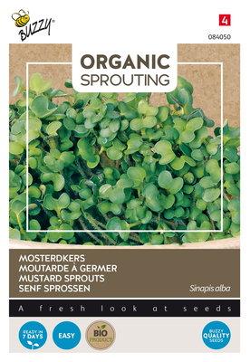 Mosterdkers Zaden, Organic Sprouting | BIO