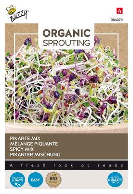 Pikante Mix Zaden, Organic Sprouting
