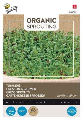 Tuinkers zaden, Organic sprouting | BIO