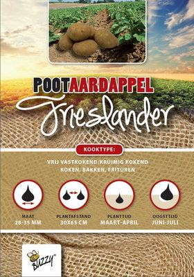 Pootaardappel, Frieslander (1Kg)