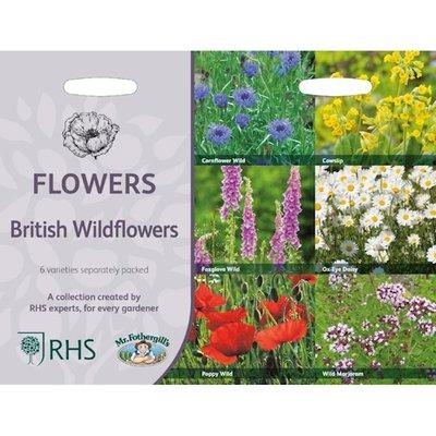 Engelse Wildbloemen, Collectie van 6