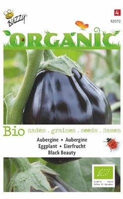 Aubergine Zaden, Biologisch Black Beauty | BIO