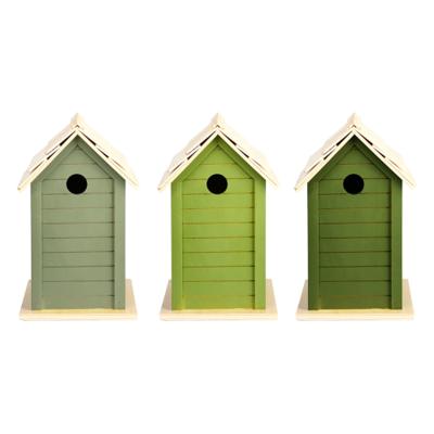 Vogelhuisje, Nestkast Groentinten (Esschert Design)